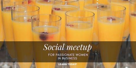 Social meetup tickets