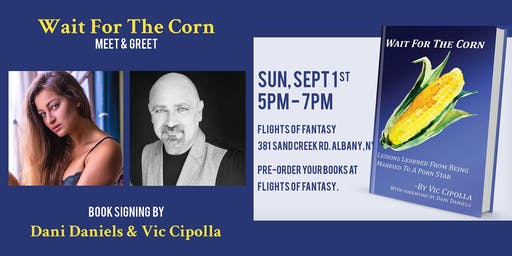 Wait For The Corn Book Signing
