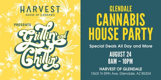 Harvest House of Cannabis Presents Glendale Cannabis House Party