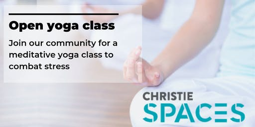 Free Yoga Class @  Christie Spaces