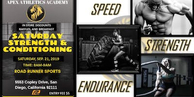 Saturday Strength & Conditioning