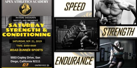 Apex Athletics Academy Strength and Conditioning Group Session tickets