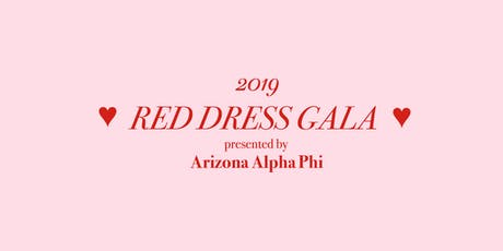 Red Dress Gala Presented by Arizona Alpha Phi tickets