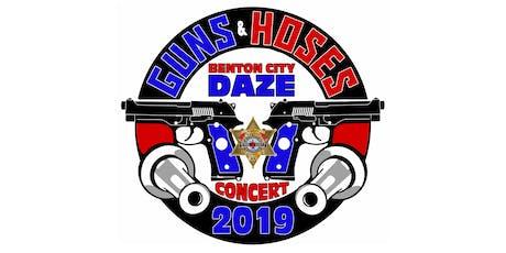 Benton City DAZE Guns & Hoses Community Concert tickets