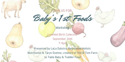 Baby's First Foods Workshop