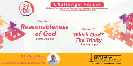 Reasonableness of God - Which God? The Trinity tickets