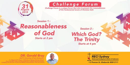 Reasonableness of God - Which God? The Trinity