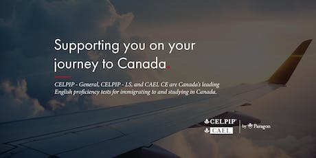 Free CELPIP / CAEL Information Session - Edmonton - NorQuest College tickets
