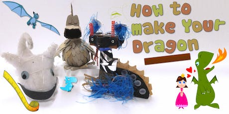 How to Make Your Dragon! Children's Eco Art Workshop tickets