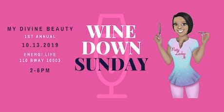 Wine Down Sunday tickets