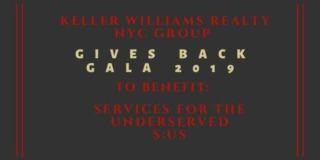 Keller Williams Realty NYC Group Gives Back Gala tickets
