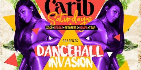 Carib Saturdays - REGGAE- SOCA-TRAP  tickets