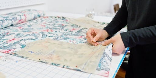 How to draw any skirt pattern - workshop with costume designer