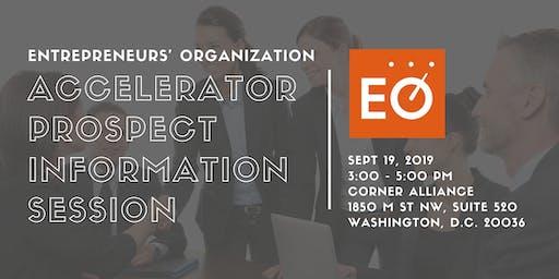 Entrepreneurs' Organization Accelerator Prospect Information Session
