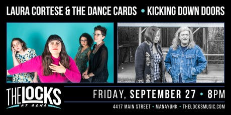 Laura Cortese & the Dance Cards / Kicking Down Doors Co - Bill tickets