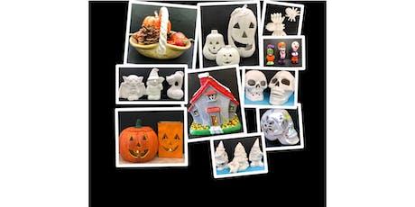 "Paint & Go ""Fall Ceramics tickets"