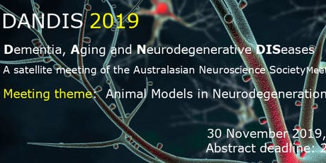 DANDIS 2019: Animal models in neurodegeneration and beyond tickets