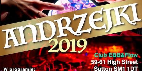 ANDRZEJKI 2019 tickets