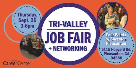 Tri-Valley Job Fair, Sept. 2019 tickets