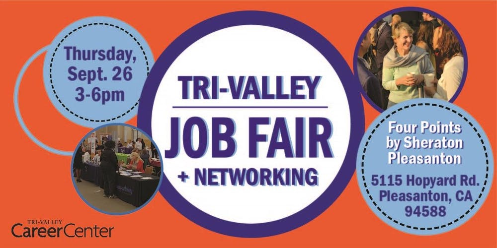 Tri-Valley Job Fair, Sept  2019 Tickets, Thu, Sep 26, 2019