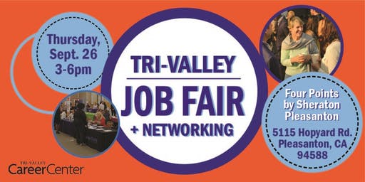Tri-Valley Job Fair, Sept. 2019