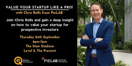 Value your Startup like a Pro, with Chris Rolls tickets