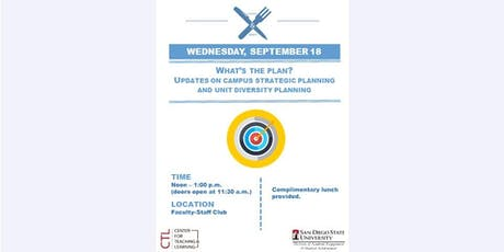 What's the Plan? Updates on Campus Strategic Planning and Unit Diversity Planning tickets