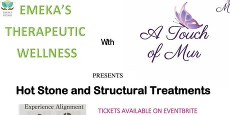 HOTSTONE & STRUCTURAL INTEGRATION TREATMENTS tickets
