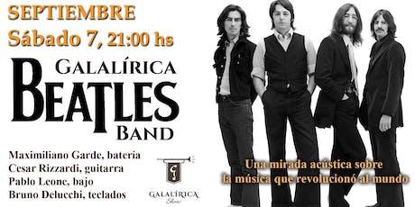 Galalìrica Beatles Band en la Biblioteca de San Isidro entradas