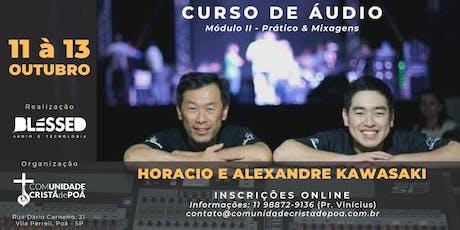 Curso de Áudio - Módulo 2 tickets