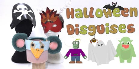 Halloween Disguises Children's Eco Art Workshop tickets