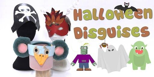Halloween Disguises Children's Eco Art Workshop
