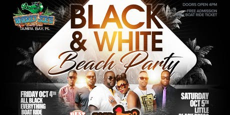 BLACK & WHITE Beach Party tickets