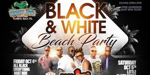 BLACK & WHITE Beach Party