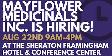Mayflower Medicinals Job Fair tickets