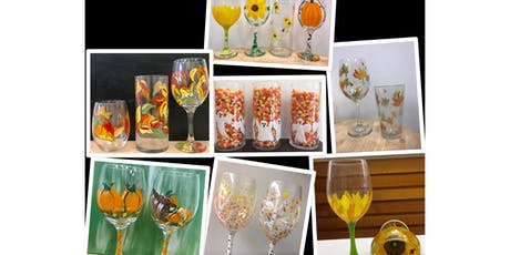 "Adult Open Paint (18yrs+) ""Fall Glasses"" tickets"