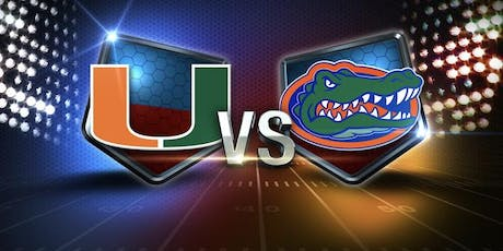 Miami Hurricanes vs Florida Gators Watch Party tickets