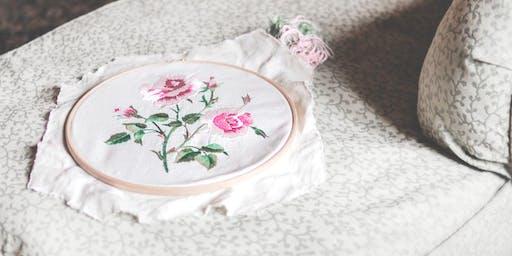 Embroidery & Tea