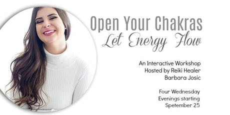 Open Your Chakras - Let Energy Flow! tickets