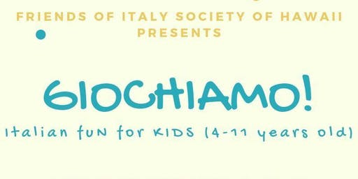 Giochiamo! Italian fun for kids
