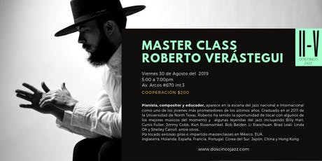Master Class en Dos Cinco Jazz boletos
