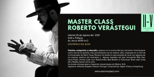 Master Class en Dos Cinco Jazz
