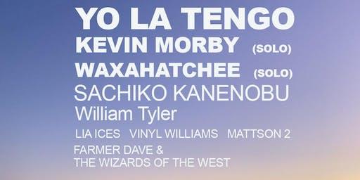 YO LA TENGO + Kevin Morby + Waxahatchee :: 9/20-21 BIG SUR CAMPING WEEKEND