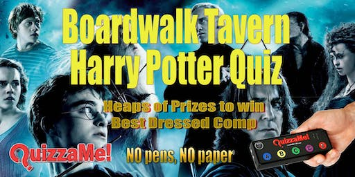 Boardwalk Tavern Harry Potter Trivia