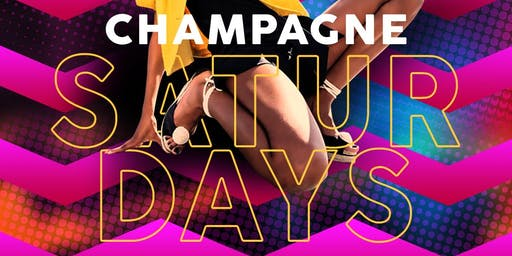 #ChampagneSaturdays Bubbliest Night In Town