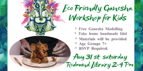 Eco Friendly Ganesha Workshop for Kids tickets