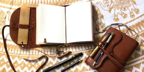 Leather journal workshop tickets