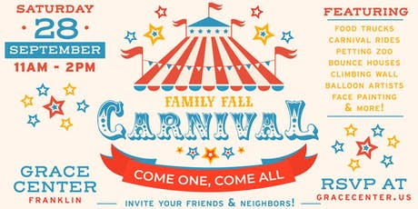 Family Fall Carnival tickets