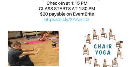 Chair Yoga With Cats & Kittens  tickets