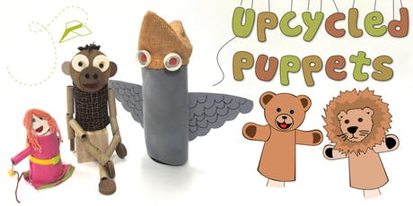 Upcycled Puppets Children's Eco Art Workshop tickets